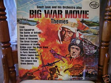 Big War Movie Themes Vintage   LP